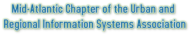 Mid-Atlantic Chapter of the Urban and  Regional Information Systems Association